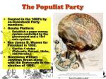 the populist party