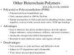 other heterochain polymers2