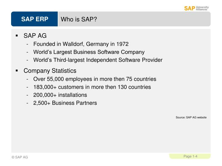 Who is SAP?