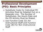 professional development pd basic principles2