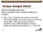unique budget detail2