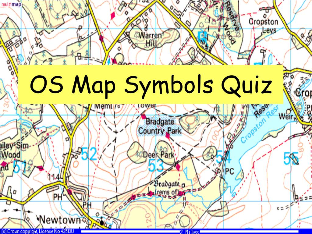 Ppt Os Map Symbols Quiz Powerpoint Presentation Id3209740
