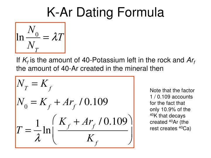 k ar dating vs ar ar dating The radioactive decay scheme involving the breakdown of potassium of mass 40 (40 k) to argon gas of mass 40 (40 ar) formed the basis of the first widely used isotopic dating methodsince radiogenic argon-40 was first detected in 1938 by the american geophysicist.