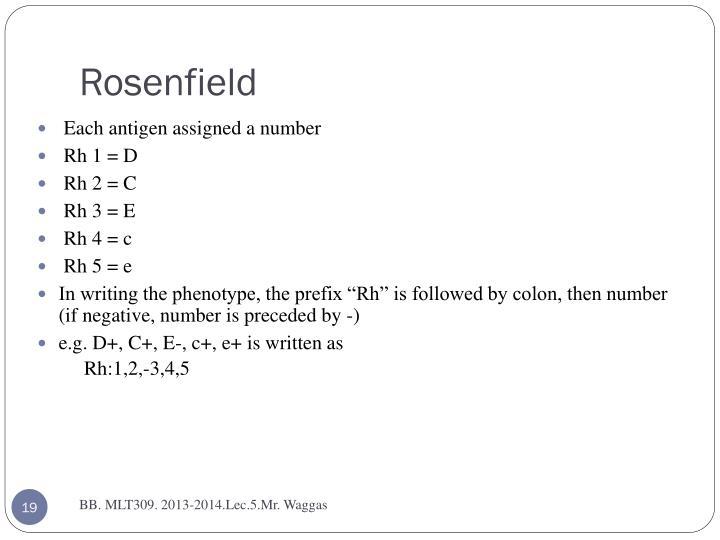 Rosenfield