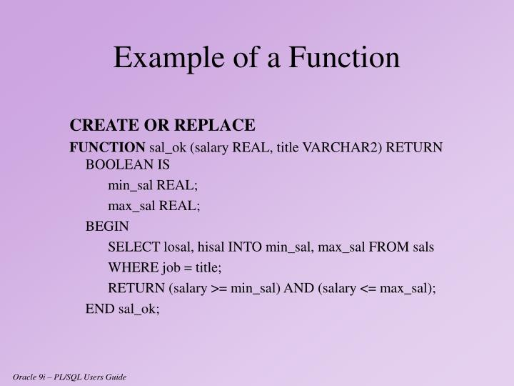CREATE OR REPLACE