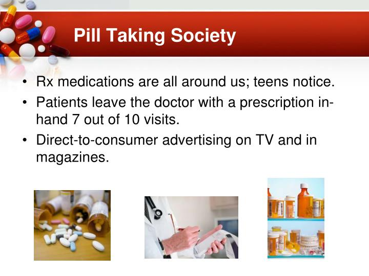 Pill Taking Society