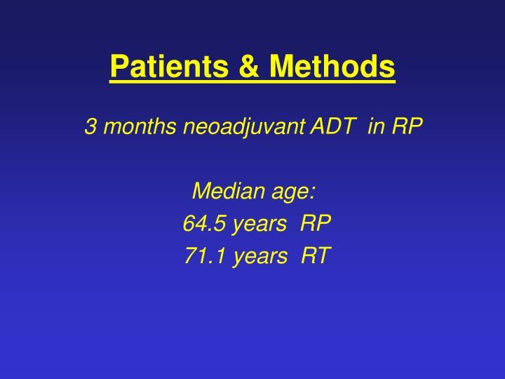 Patients & Methods