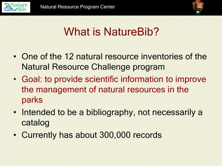 What is naturebib