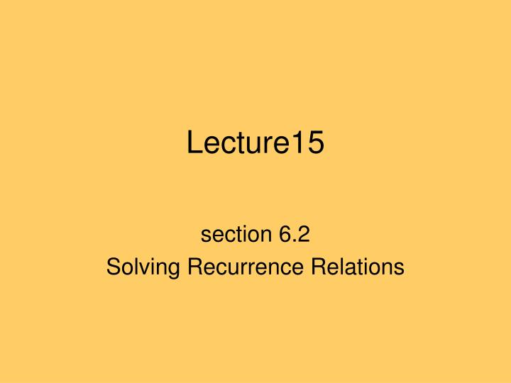 Lecture15
