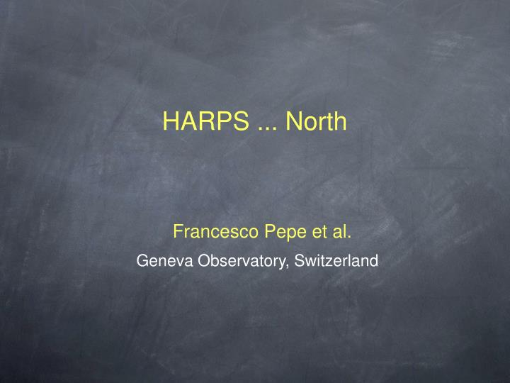 Harps north