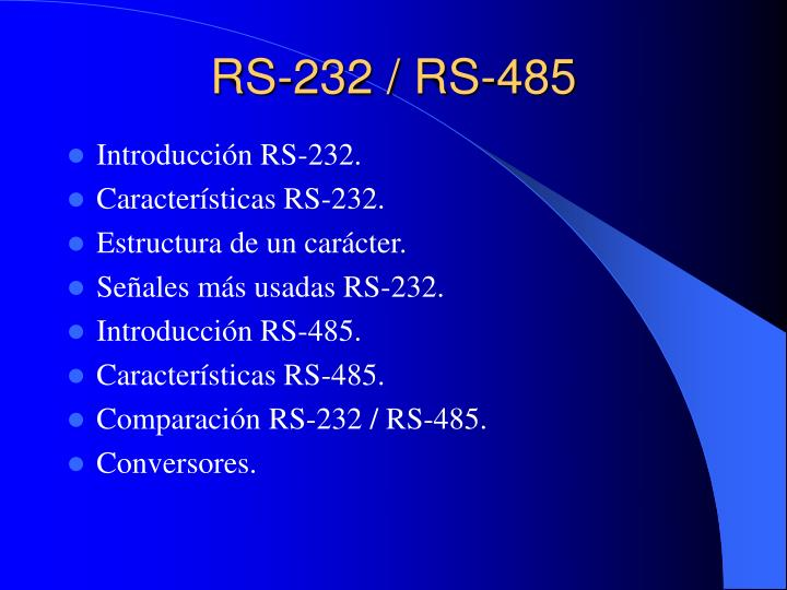 rs 232 rs 485