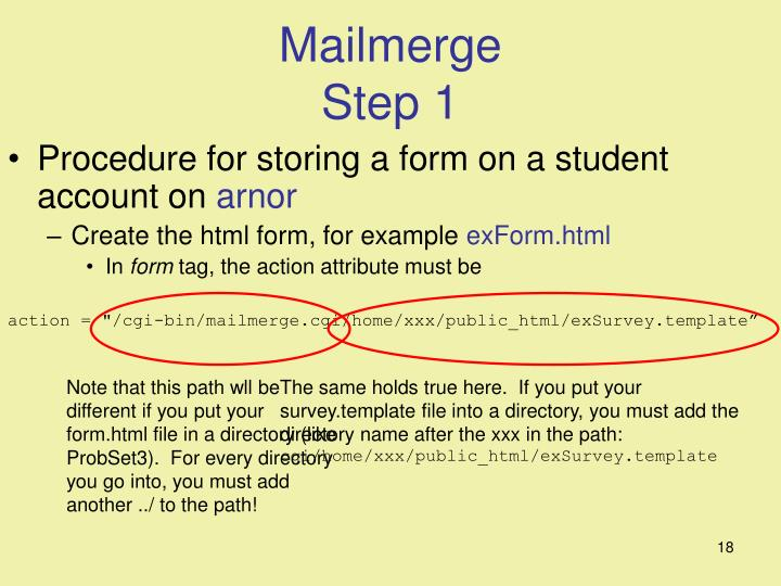 Note that this path wll be different if you put your form.html file in a directory (like ProbSet3).  For every directory you go into, you must add another ../ to the path!