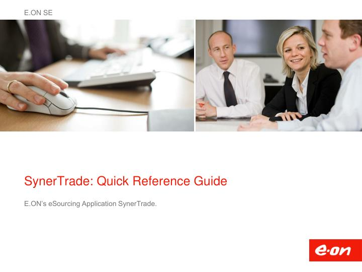 synertrade quick reference guide n.
