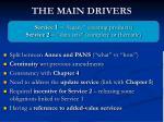 the main drivers