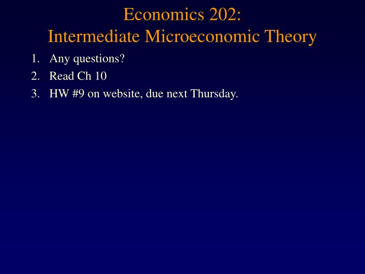 econ 202 The department welcome to the department of economics at texas a&m university – a highly ranked program with world-class faculty in a variety of fields.