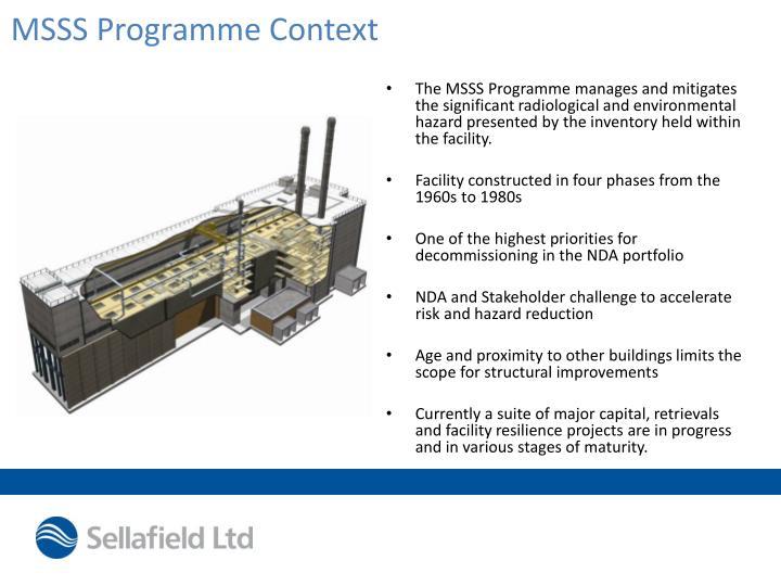 Msss programme context