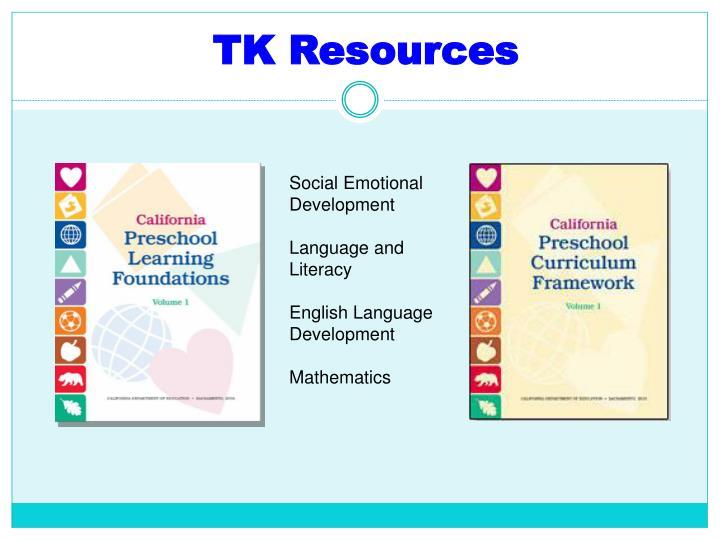 TK Resources