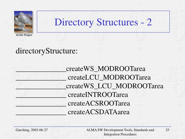 Directory Structures - 2