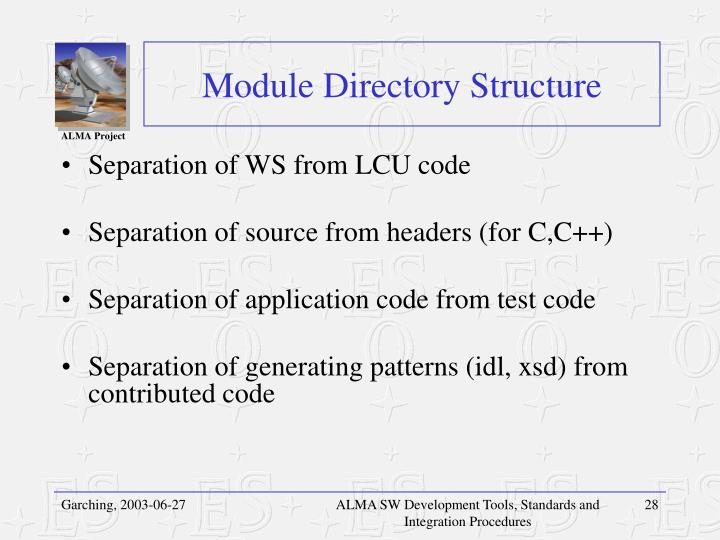 Module Directory Structure