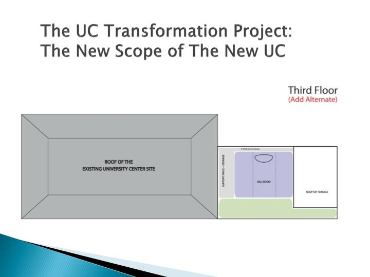 The UC Transformation Project: