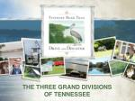 the three grand divisions of tennessee