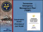 tennessee emergency management plan temp