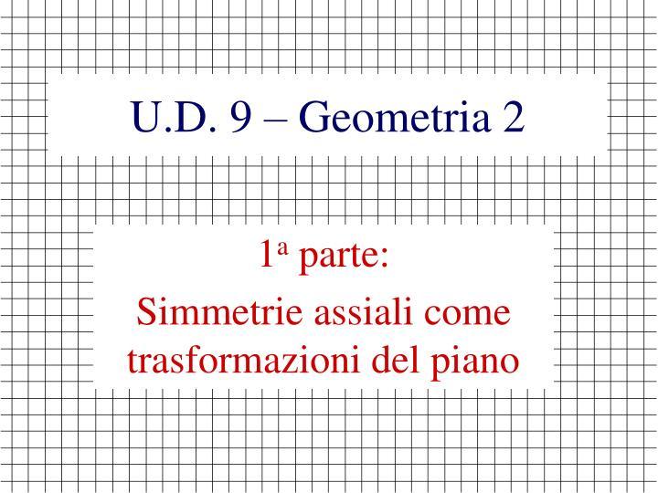 U d 9 geometria 21