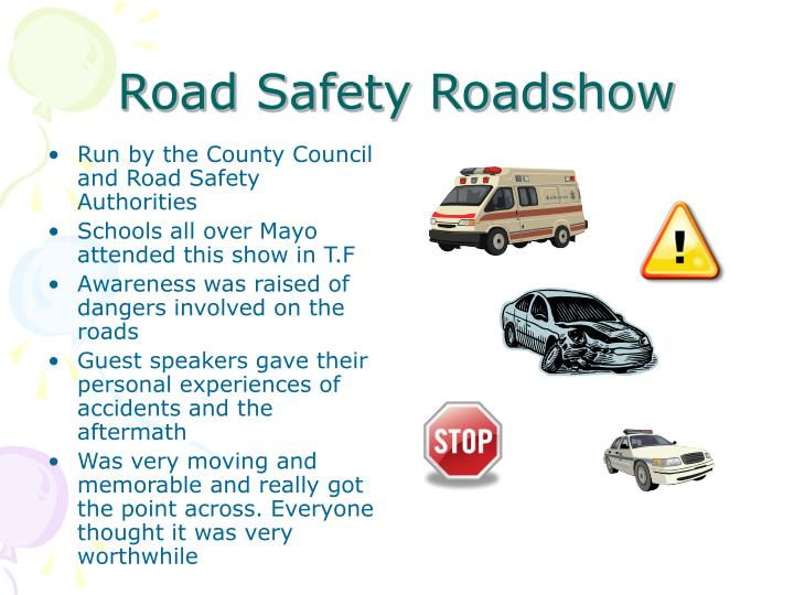 Road Safety Roadshow