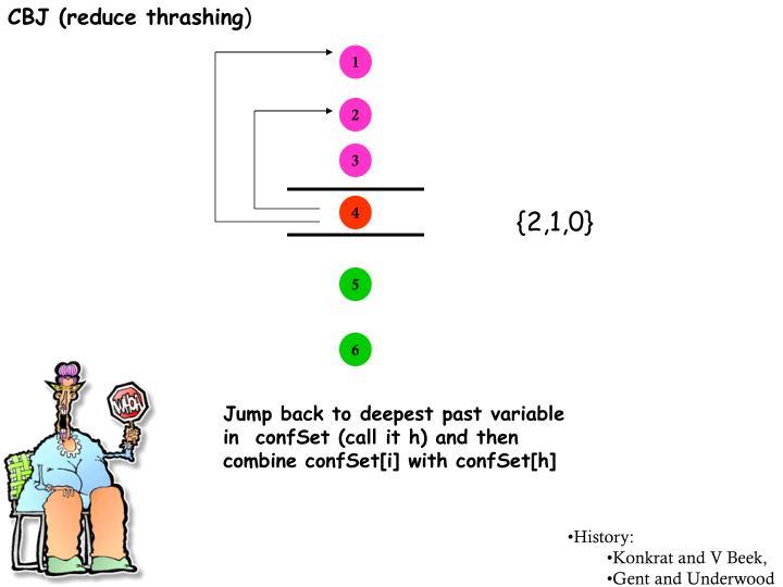 CBJ (reduce thrashing
