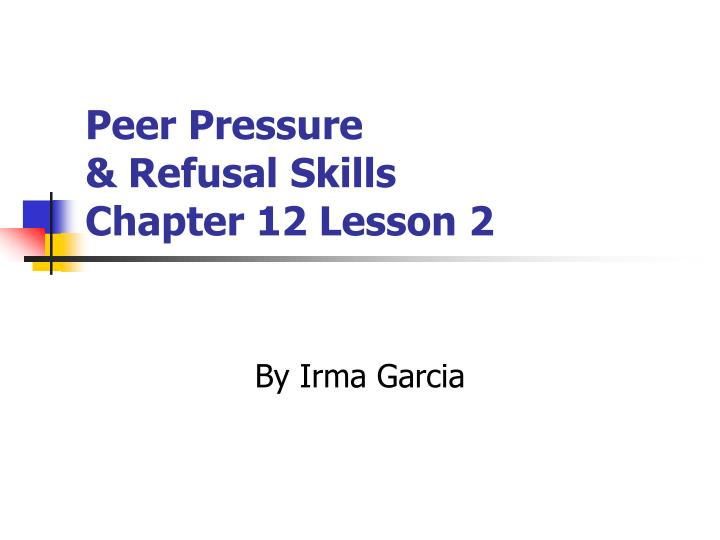 what causes peer pressure Help students understand the impact of peer pressure and build a community of learners in the classroom with this lesson plan developed by educators  ask students.