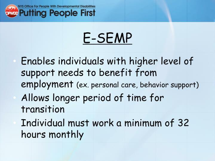E-SEMP