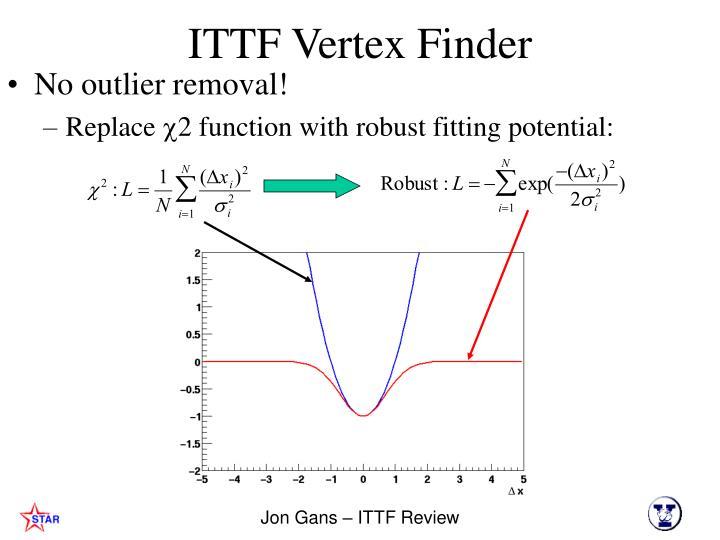 Ppt Ittf Vertex Finder Performance Jonathan Gans Powerpoint