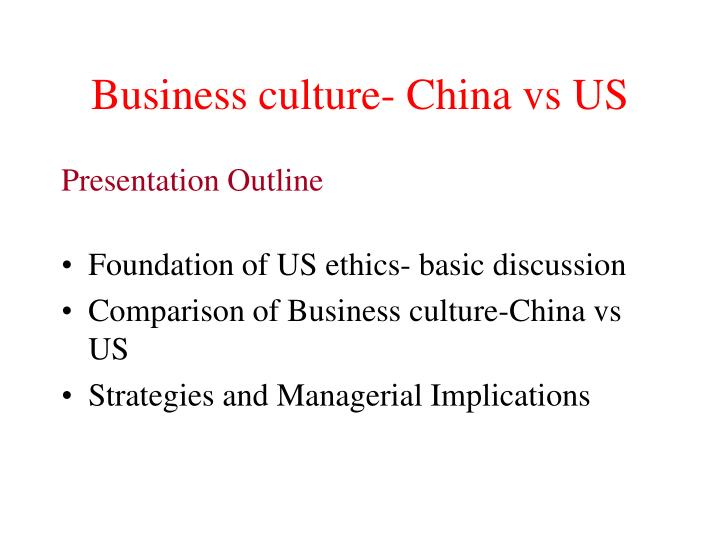 Ppt american business culture and ethics powerpoint presentation.