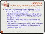 ch ng 9 truy n th ng marketing trong kd dv2
