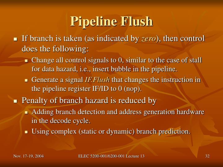 Pipeline Flush