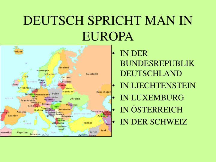 man deutsch