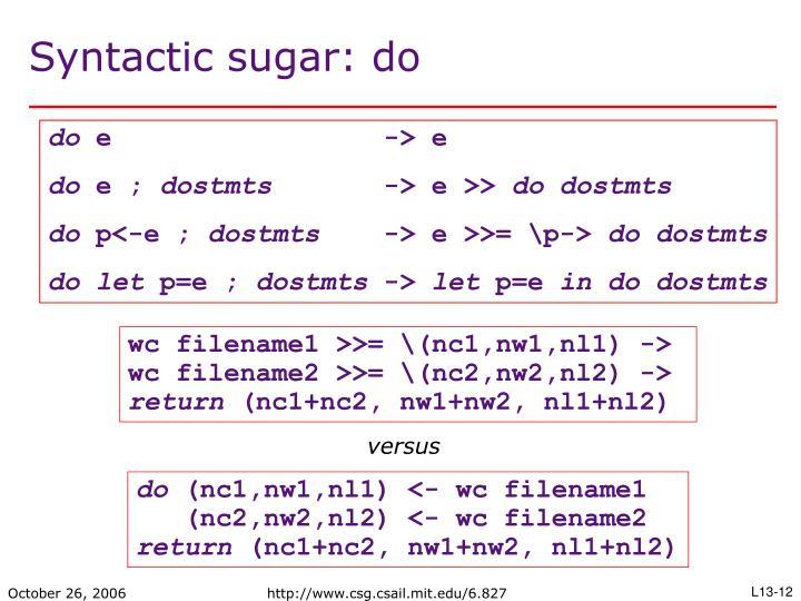 wc filename1 >>= \(nc1,nw1,nl1) ->