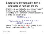 expressing computation in the language of number theory2