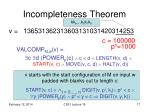 incompleteness theorem5