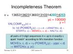 incompleteness theorem6