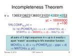 incompleteness theorem8