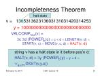 incompleteness theorem9
