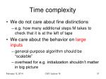 time complexity2
