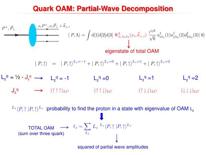 Quark OAM: Partial-Wave Decomposition