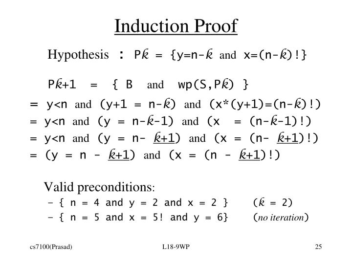 Induction Proof