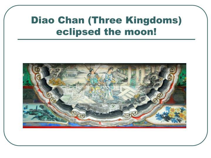 Diao Chan (Three Kingdoms)