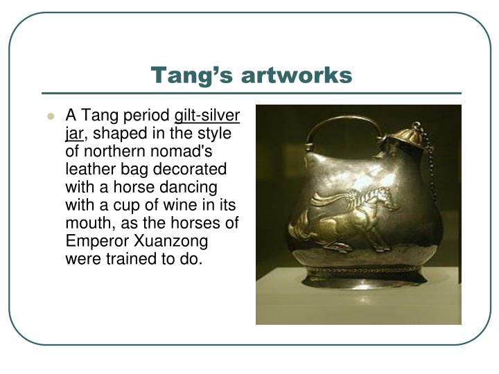 Tang's artworks