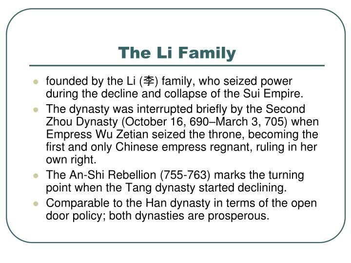 The li family