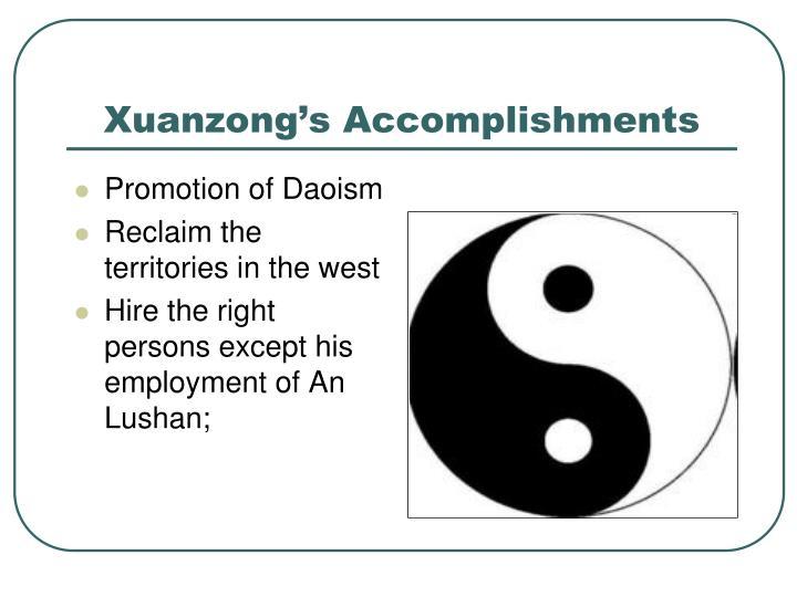 Promotion of Daoism