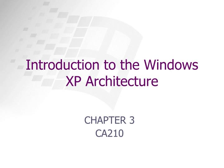 an introduction to the windows xp operating system Microsoft windows is a series of operating systems and environments developed and marketed by microsoft corporationthe first version of windows was released in 1985 as a graphical user interface to ms-dos, providing multiple document support, mouse support, drop down menus, and color video drivers.